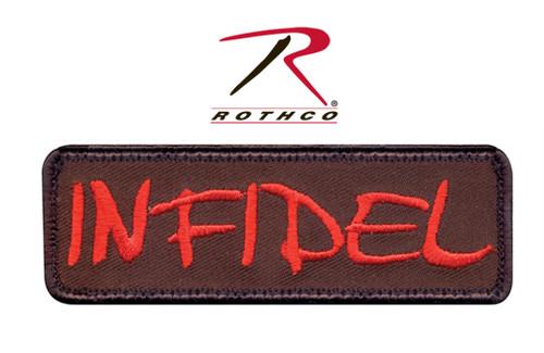 Infidel w/Velcro Back - Morale Patch