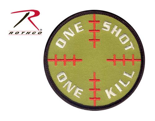 Sniper Sight w/Velcro Back - Morale Patch