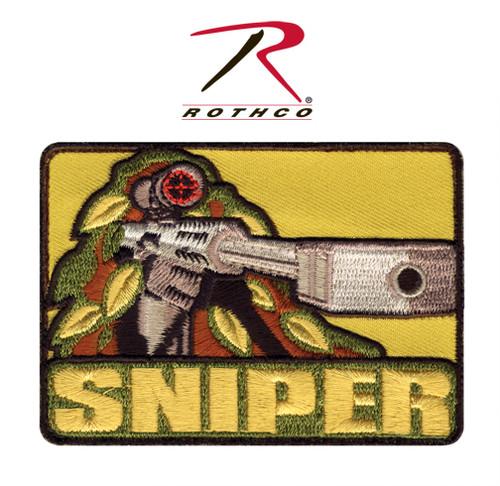 Sniper w/Velcro Back - Morale Patch