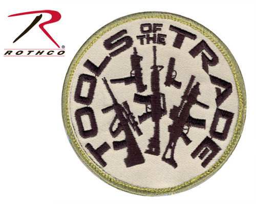 Tools Of The Trade w/Velcro Back - Morale Patch