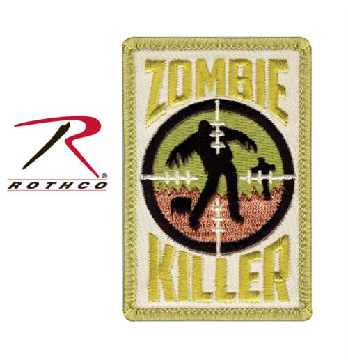 Zombie Killer w/Velcro Back - Morale Patch