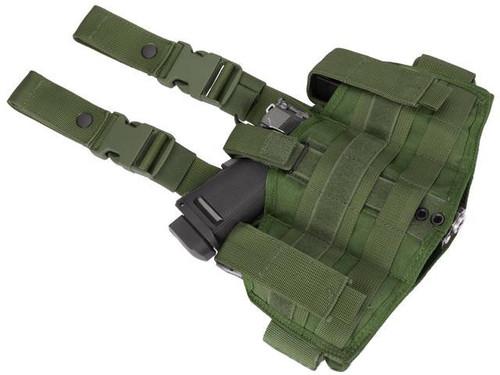 Phantom Gear Navy Seal Drop Leg Thigh Holster Rig - OD Green