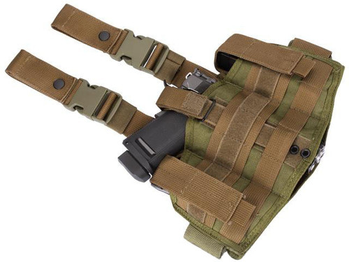 Phantom Gear Navy Seal Drop Leg Thigh Holster Rig - Tan