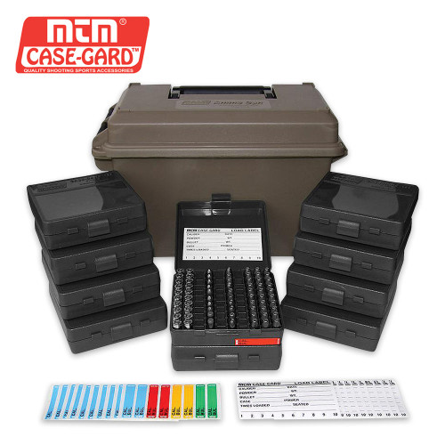 MTM 9MM Ammo Can 1000 Rd w/Boxes