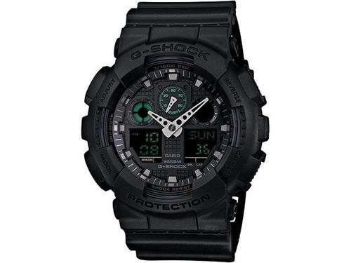Casio G-Shock Military Series GA100SD-8A Digital Watch - Black / Green