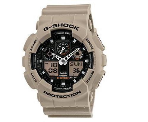 Casio G-Shock Trending Series GA100SD-8A Digital Watch - Sand
