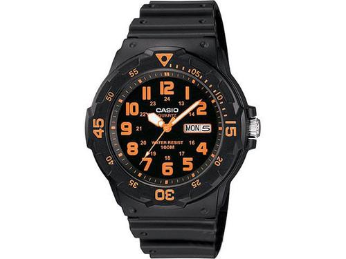 Casio MRW200HB-4BV Analog Military Watch - Orange / Black