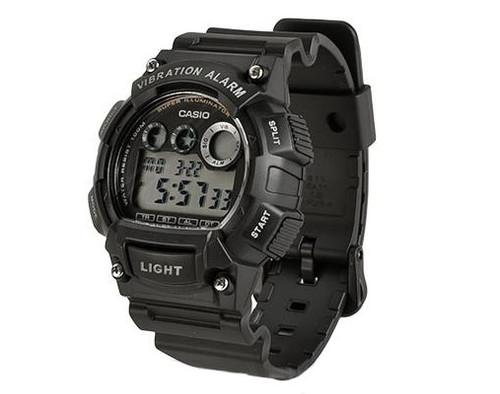 Casio Sports Series W735H-1AV Digital Watch - Black