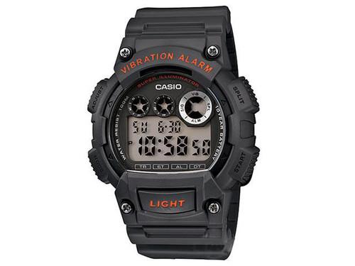Casio Sports Series W735H-1AVCF Digital Watch - Grey / Orange