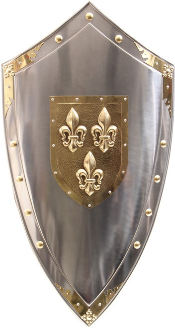 Fleur-de-lis Shield
