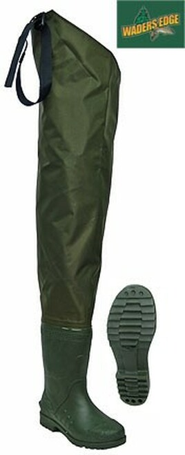 Wader's Edge Hip Waders w/Boots