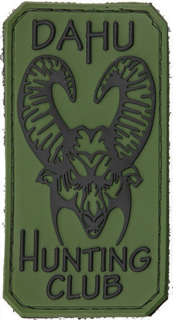 PVC Patch Dahu Hunting Club
