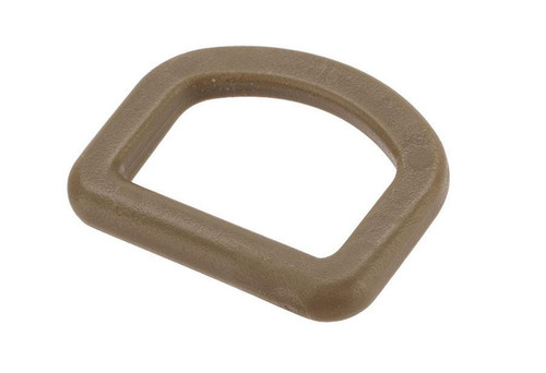 TMC X-Con Flat 1 Inch Polymer D-Ring (Color: Coyote Brown)