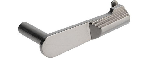 Airsoft Masterpiece Steel Slide Stop - Type 1 (Color: Silver)