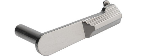Airsoft Masterpiece Steel Slide Stop - Type 2 (Color: Silver)