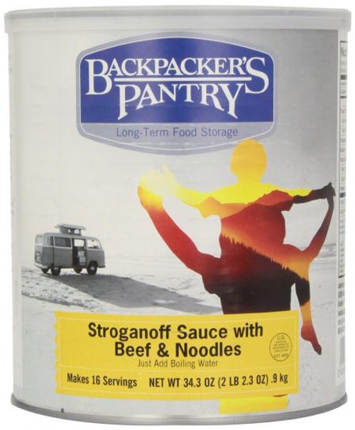 Backpackers Pantry Can Beef Stroganoff