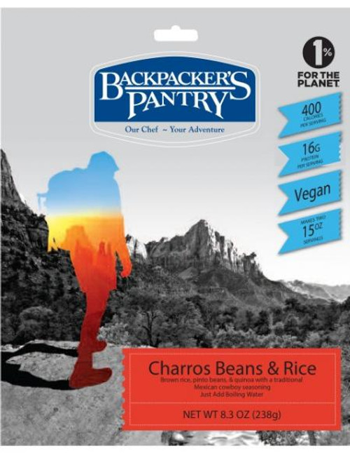 Backpackers Pantry Charros Bean and Rice - 6 Pack