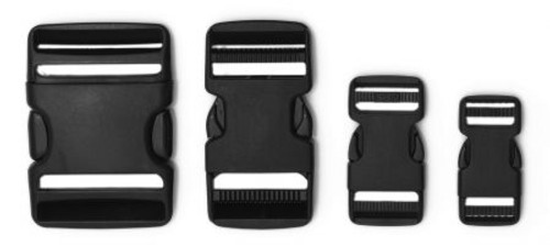 Buckles and Web Double Ladderloc Side Release Buckle