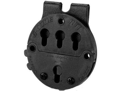 G-Code RTI Battle Belt MOLLE Holster Adaptor - Black