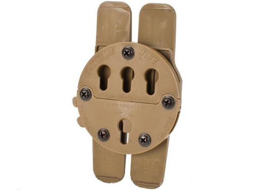 G-Code RTI H-MAR MOLLE Adapter - Coyote Brown