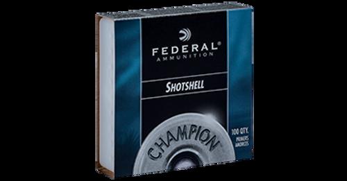 Federal Champion Shotshell Primers - No. 209A, Shotshell, 100ct