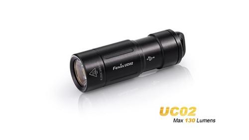 Fenix UC02 Rechargeable Keychain Light 130 Lumens