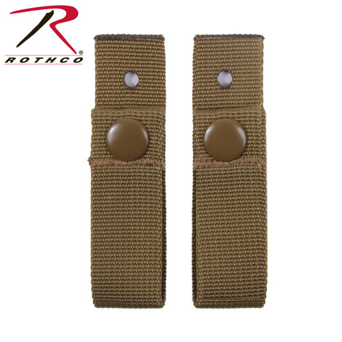 Rothco MICH Helmet Goggle Straps - Coyote Brown
