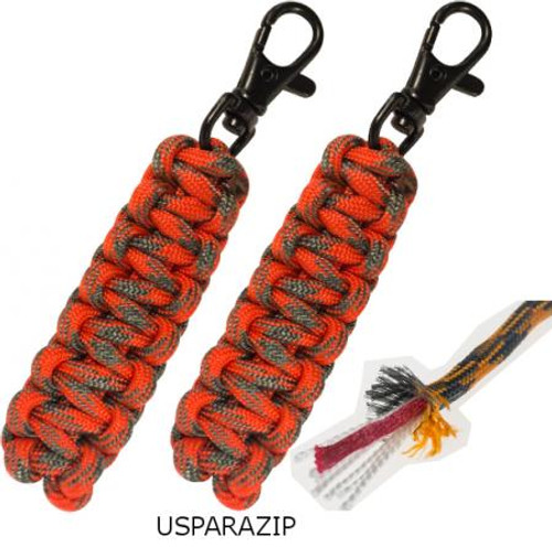 Ultimate Survival Technologies Para Tinder Zipper Pulls