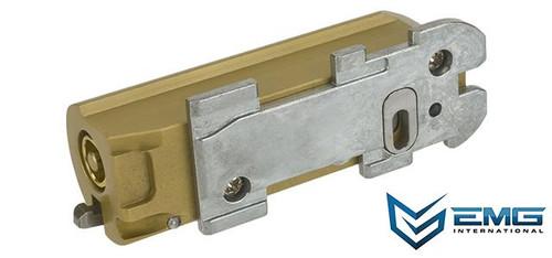Sailent Arms/EMG Heavy Duty Cast Steel Bolt for SAI 870 Airsoft Shotgun - Titanium Nitride Gold