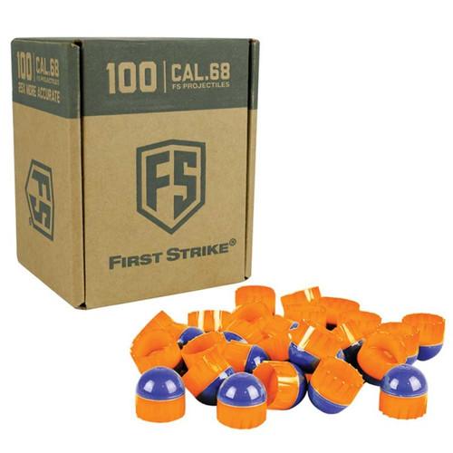 Tiberius First Strike - 100 Rounds - Blue/Orange/Orange