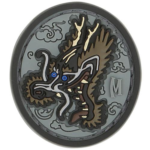 Dragon Head PVC - Moral Patch