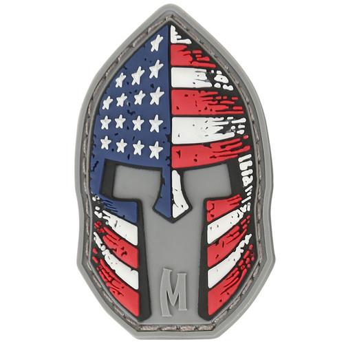 Stars and Stripes Spartan Helmet PVC - Moral Patch