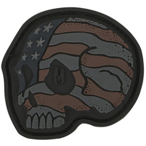 Stars and Stripes Skull PVC - Moral Patch