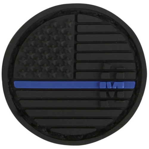 USA Flag Micropatch - Thin Blue Line - Morale Patch
