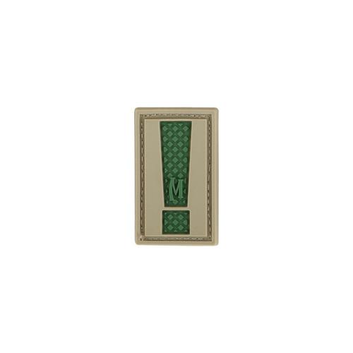 Letter ! PVC - Moral Patch