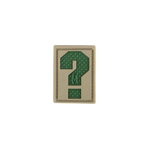 Letter ? PVC - Moral Patch