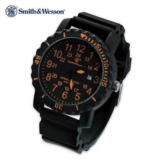 Smith & Wesson PW1063 Military Watch - Orange