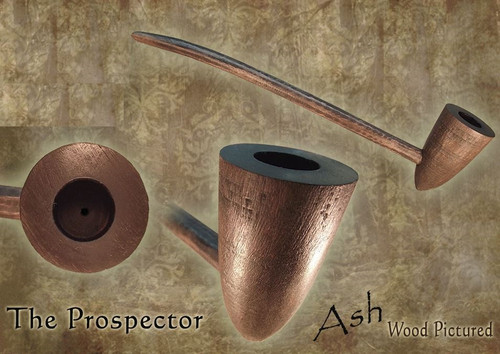 MacQueen Pipes 'The Prospector' - Ash Wood