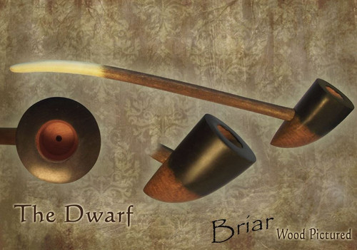 MacQueen Pipes 'The Dwarf' - Briar Wood