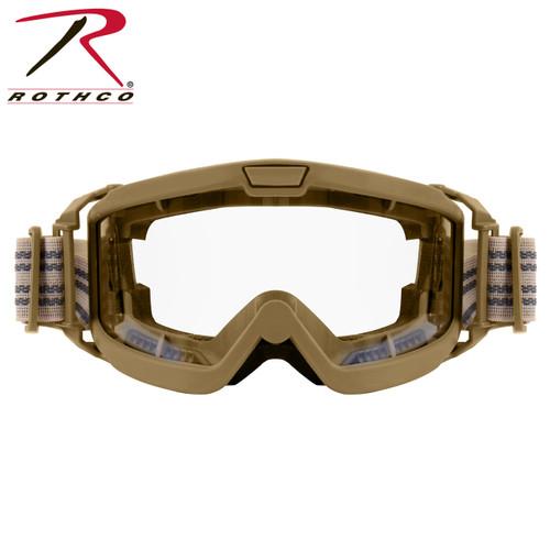 Rothco OTG Ballistic Goggles - Coyote Brown