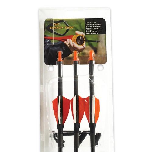 Pocket Shot Custom Arrows - 3-Pack