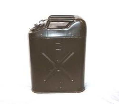 U.S. Armed Forces 5gal Metal Jerry/Fuel Can