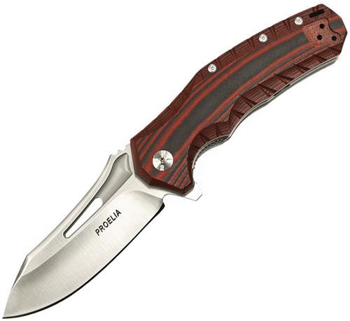 Linerlock Red Black TX020RS