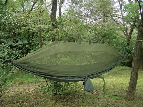 Snugpak Jungle Hammock w/Mosquito Net - Coyote Tan