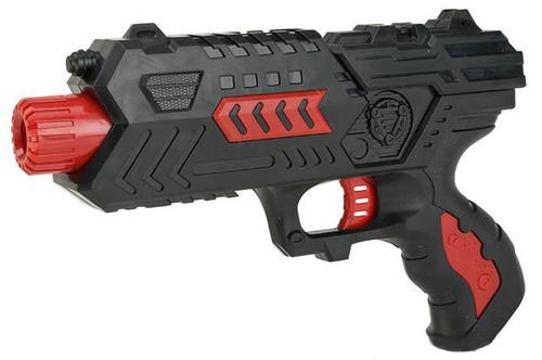 "2 in 1 Dart and Soft Bullet ""Combat Hawk"" Dart Pistol Kit"