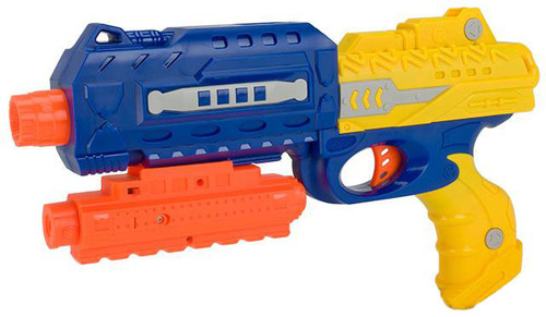 2 in 1 Dart and Soft Bullet Pump Action Pistol with Laser