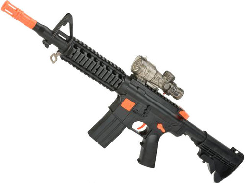 2 in 1 M16 Dart and Soft Bullet Single Shot Rifle