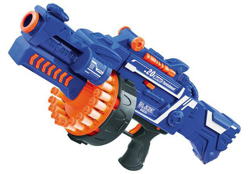 Blaze Storm 7050 Drum Fed Electric Powered Dart Gun