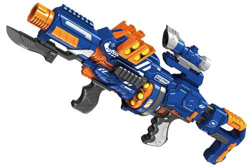 Blaze Storm ZC7089 Foam ball gun with Scope and Mock Bayonet