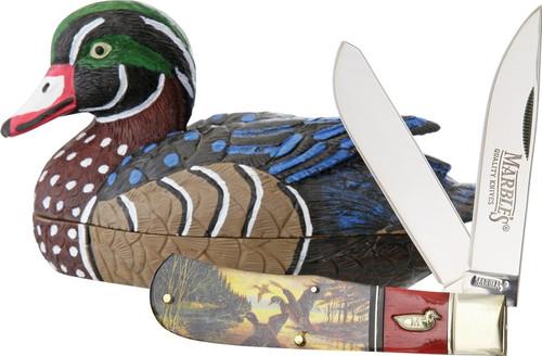 Wood Duck Knife Decoy Set